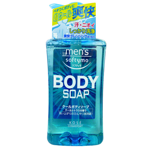 Kose Men Softymo Cooling Body Wash 550ml