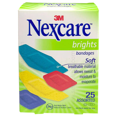 3M Bright Bandages Assorted 25 pieces