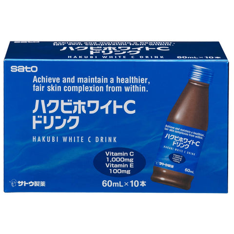 Sato Hakubi White C drink 10 x 60ml