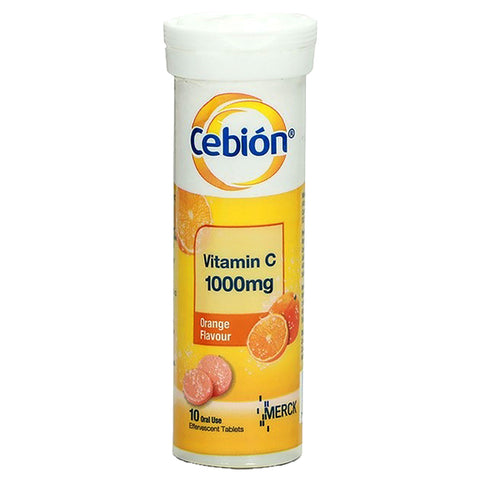 Cebion Vitamin C Effervescent Orange Flavor
