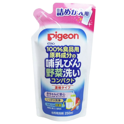 Pigeon Concentrated Vegetable And Milk Bottle Cleaner Refill 250ml