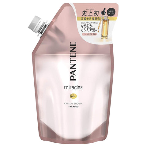 Pantene Miracles Crystal Smooth Shampoo Refill 440ml