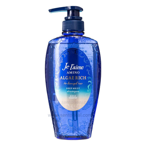 Kose Je l'aime Amino Algae Rich Deep Moist Shampoo 500ml