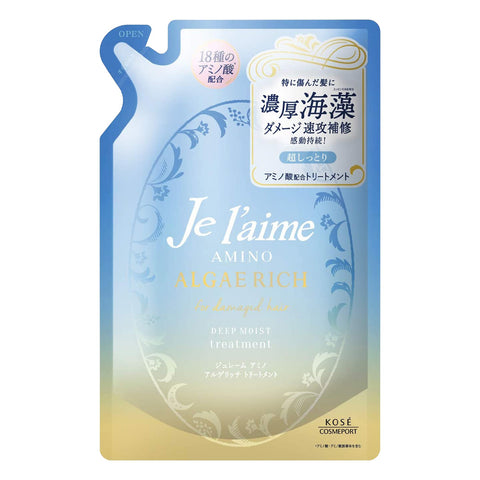 Kose Je l'aime Amino Algae Rich Deep Moist Treatment Refill 350ml