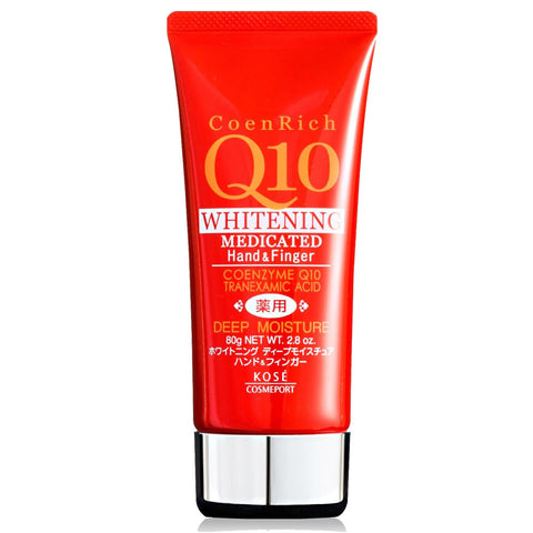 Kose CoenRich Q10 Medicated Deep Moisturizing Hand Cream 80g