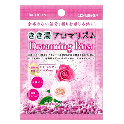 Bathclin Dreaming Rose Bath Salt 30g