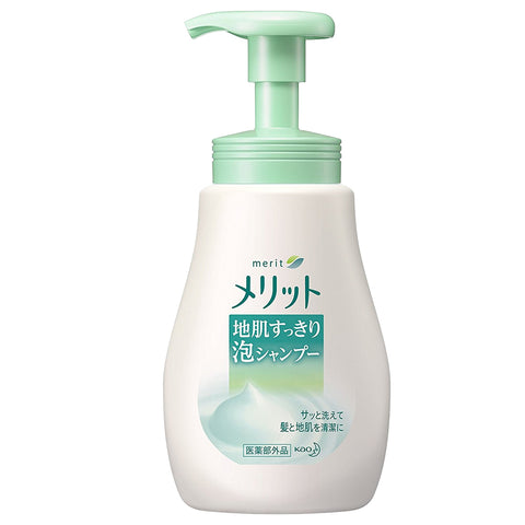 Kao Merit Instant Foaming Shampoo 360ml