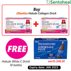 Sato Hakubi Collagen Drink 20 x 50ml