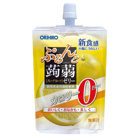 Orihiro Purudo Jelly - Grapefruit 130g