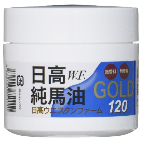 Hidaka Pure Gold Horse Oil Cream 120ml