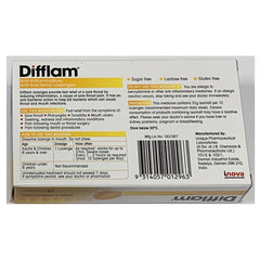 Difflam Anti inflammatory And Anti bacterial Lozenges 16 tablets- Honey And Lemon