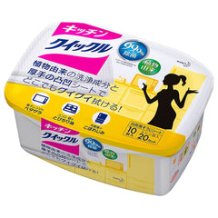 Kao Magiclean Kitchen Wet Wipes Box 10 sheets
