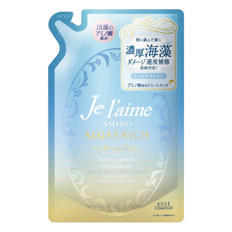 Kose Je l'aime Amino Algae Rich Moist Smooth Treatment Refill 350ml