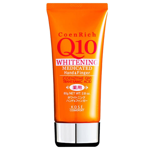Kose CoenRich Q10 Medicated Whitening Hand Cream 80g