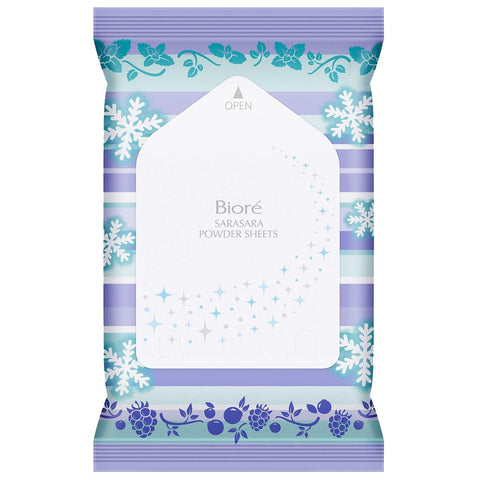 Biore Refreshing Body Powder Sheet 10s- Mint Berry Scented