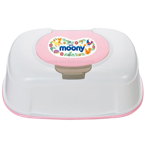 Moony Thick and Moist Wipes Box 60 sheets