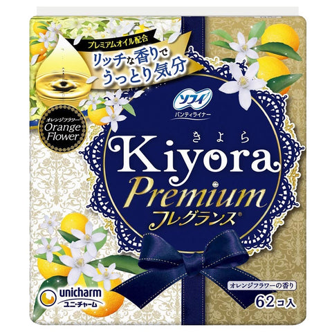 Sofy Kiyora Premium Orange Flower Pantyliner 62 pads