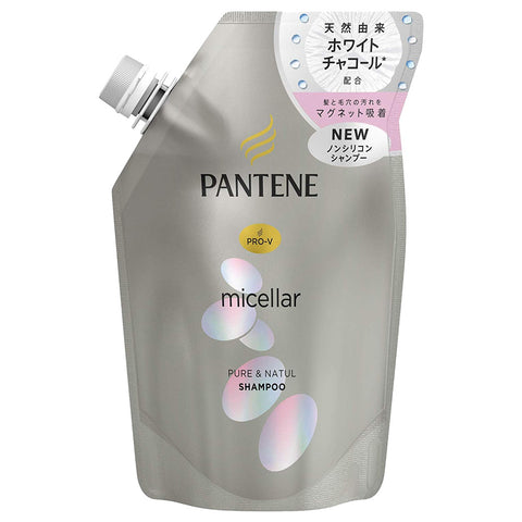 Pantene Pure and Natural Shampoo Refill 350g