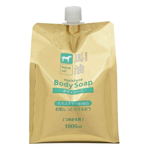 Kumano Horse Oil Body Soap Reill 1000ml
