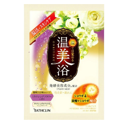 Bathclin Onbiyoku Metabolic Relaxing Flowers 40g