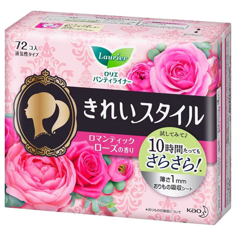 Laurier Pantyliner Rose Scented 72 pads
