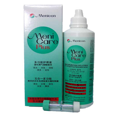 Menicon Care Plus 250ml (with 50ml Meni Case)