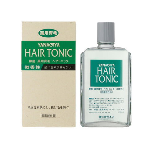 Yanagiya Hair Tonic - Mildly Scented 240ml