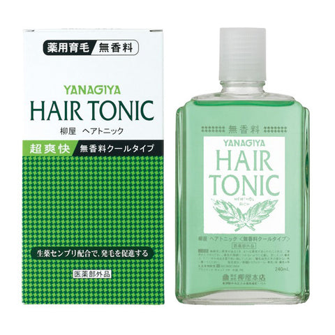 Yanagiya Hair Tonic - Unscented 240ml