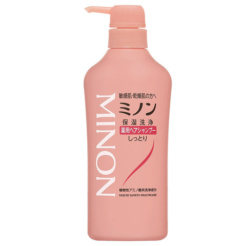 Minon Medicated Shampoo 450ml