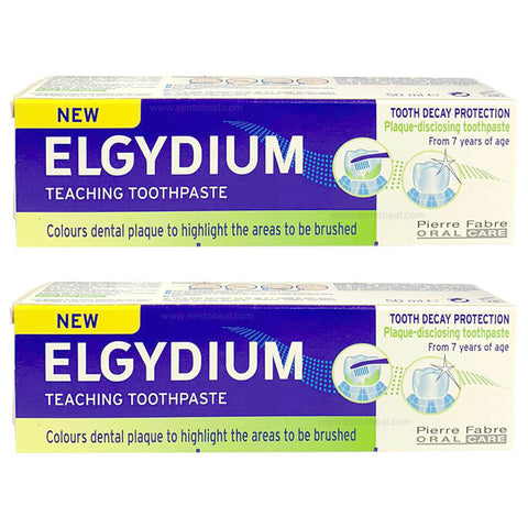 Elgydium Teaching Toothpaste From 7 years of age 2 x 50ml