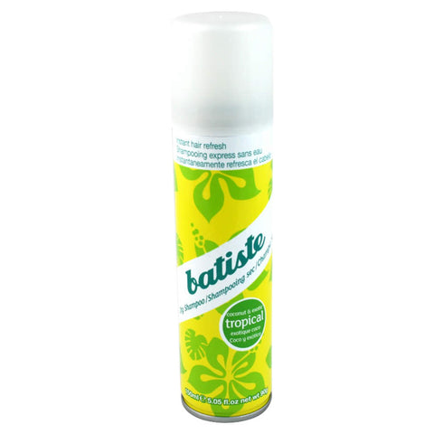 Batiste Dry Shampoo - Tropical (Coconut & Exotic) 150ml