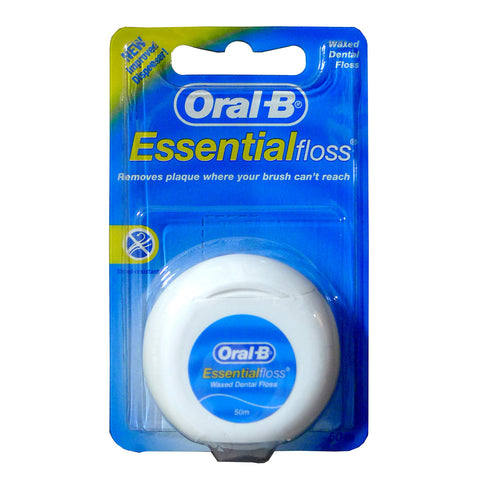 Oral-B Essential Floss Unscented 50m