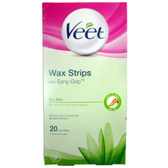 Veet Hair Removal Wax Strips - Dry Skin 20 strips