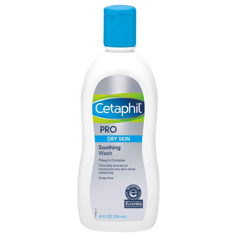Cetaphil PRO Restoraderm Eczema Soothing Wash 10oz 296ml