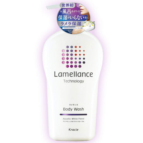Kracie Lamellance Body Wash Aquatic White Floral 480ml