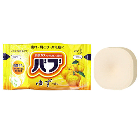 Kao BAB Yuzu Bath Tablet 40g