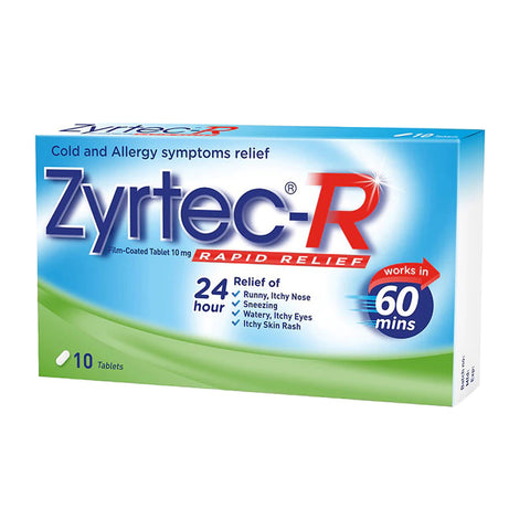 Zyrtec-R 10 tablets