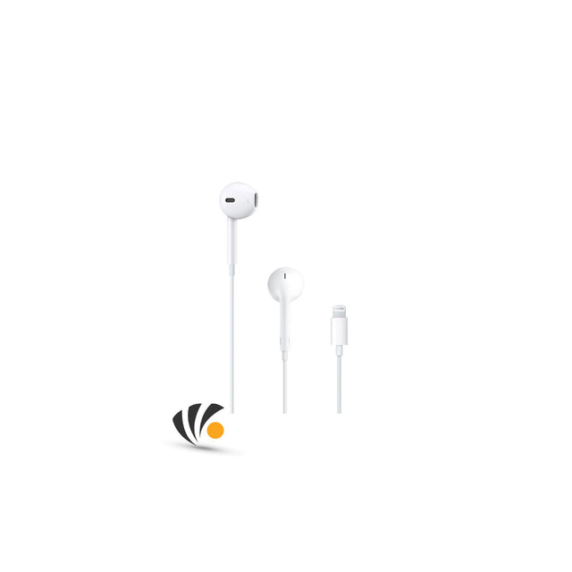 Apple Wire Earphone Connector White