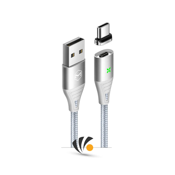 Mcdodo-Aynalfahad--Cable-USB---Type-C--Magnetic-fast-charging-Silver