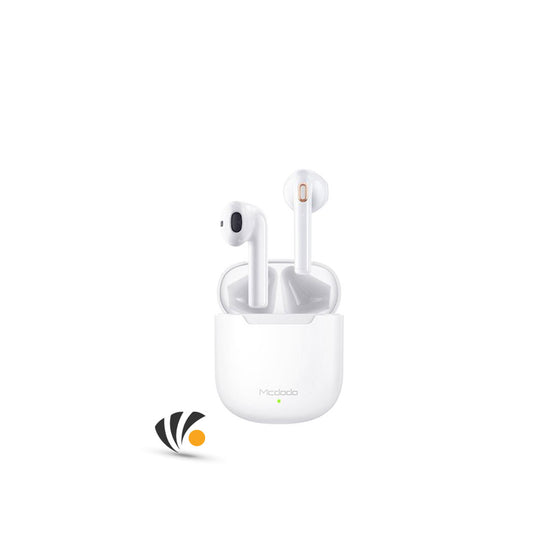 Mcdodo Dynamic TWS Earphone with wireless charge White