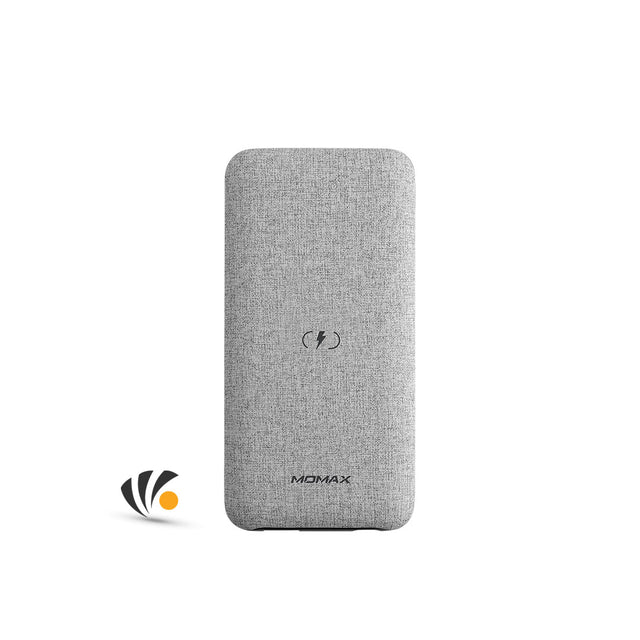 Momax Power Touch Wireless External Battery Pack 10,000mAh Gray