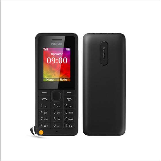 Nokia 106 Black Copy