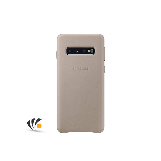Samsung Galaxy Leather Cover S10 PLUS GRAY