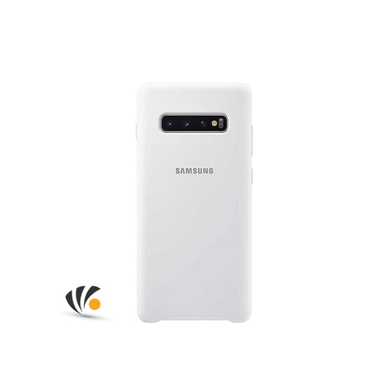 Samsung Galaxy S10 Plus Silicone Cove White