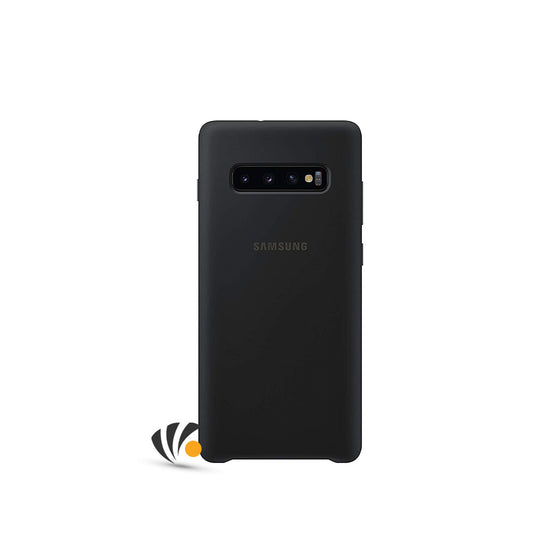 Samsung Galaxy S10 Plus Silicone Cover Black