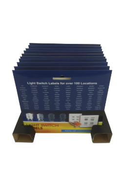 Light Switch Labels - Retail - Refill - 10 units