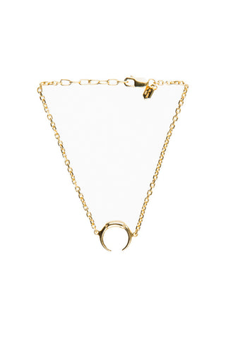 TUSK MINI BRACELET - HIGH POLISHED GOLD