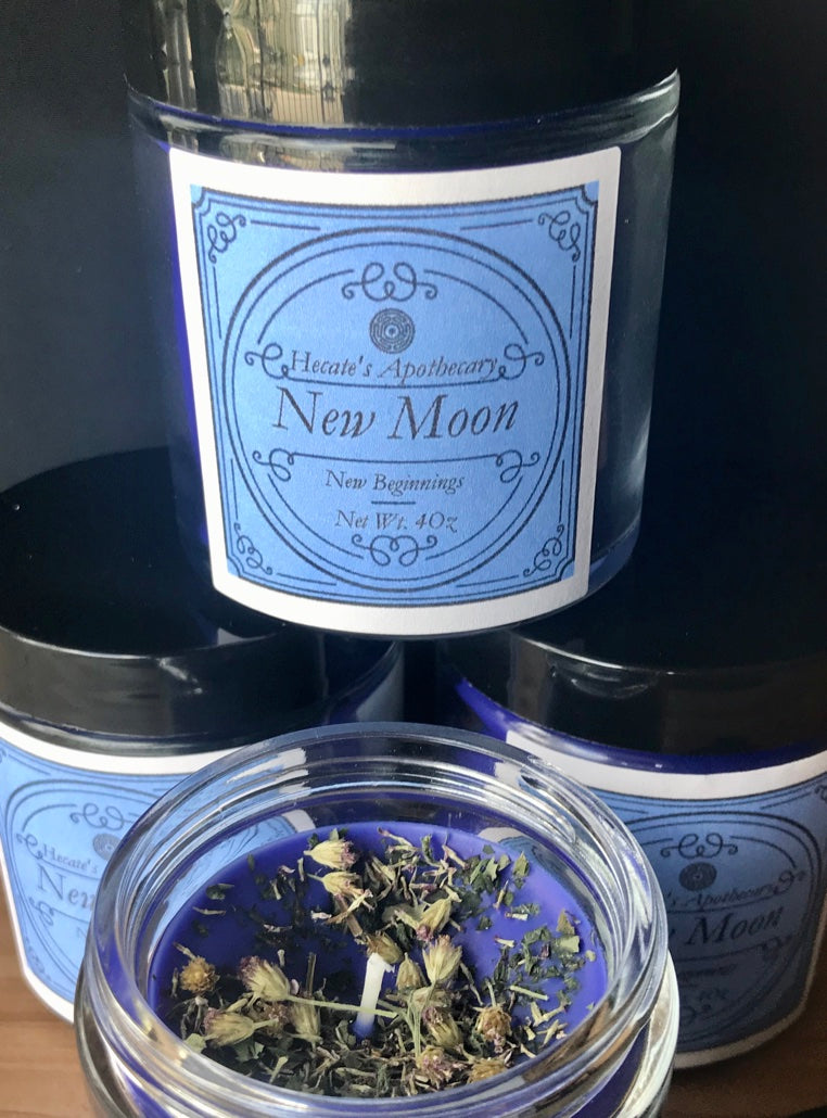 New Moon Candle 4oz