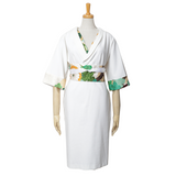 the Kimono Dress (Gold,Green,Yellow)