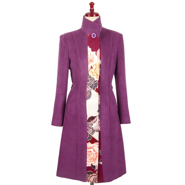 Stylish &Classical fine Cashmere coat